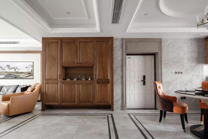现代中式风定制家具设计古朴质感中现大气稳重